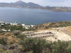 starożytny teatr na Milos