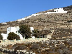 Kościół Panagia na szczycie wzgórza